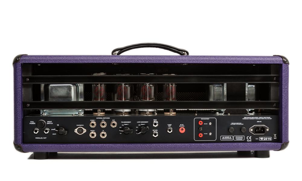 purple nightmare driftwood amps